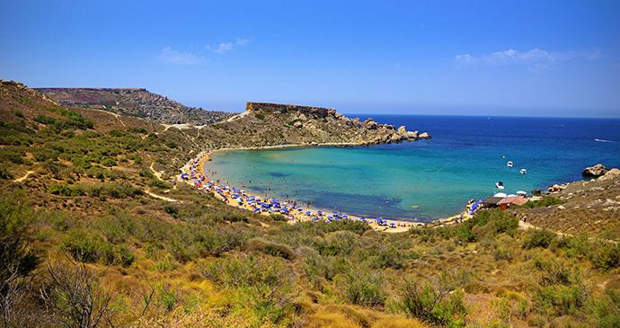 Ghajn Tuffieha Malta by www.viewingmalta.com