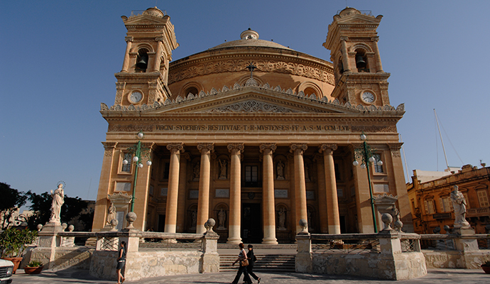 Mosta Dome Malta by www.viewingmalta.com