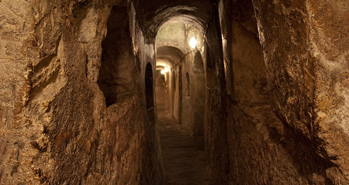 St Paul's Catacombs by Malta Tourism Board