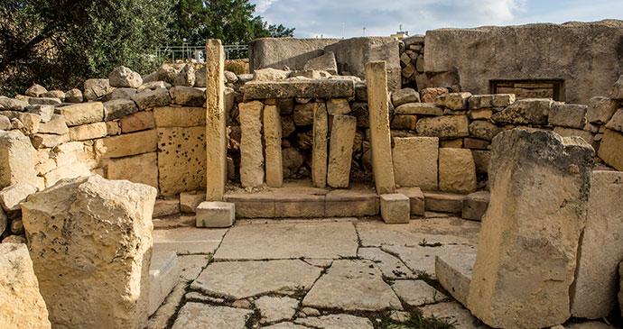 Tarxien Temple Malta by www.viewingmalta.com