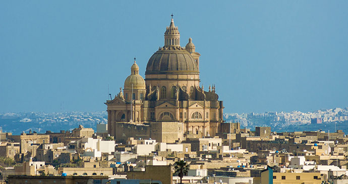 Rotunda Gozo by CEphoto, Uwe Aranas Wikimedia Commons