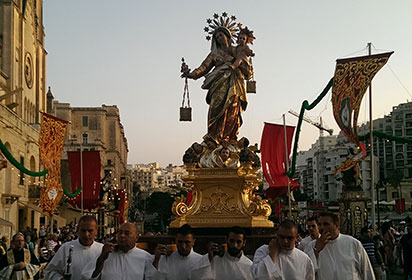 Festa of Our Lady of Mount Carmel St Julian's Malta by Bradt Travel Guides