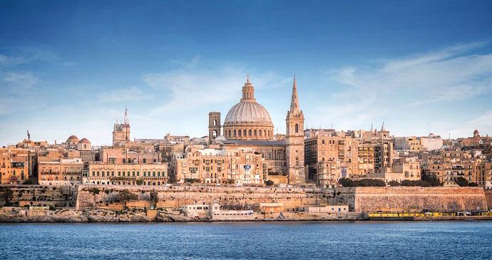Valletta Malta by weinum, Shutterstock