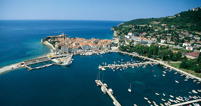 Budva Montenegro by National Tourist Organisation of Montenegro