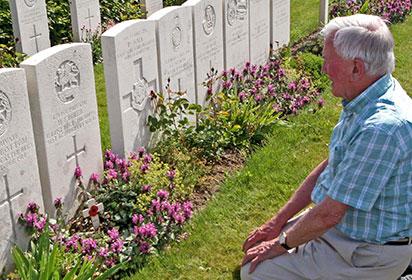 At Bailleul cemetery, Nord-Pas de Calais by John Ruler