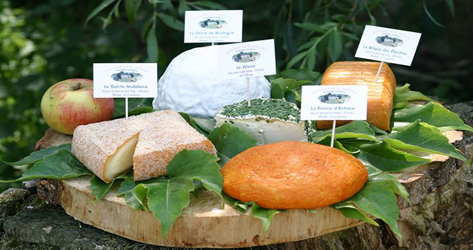 Cheese Selection France by www.pas-de-calais-tourisme.com