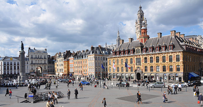 Grand Place Lille France by Nord Tourism