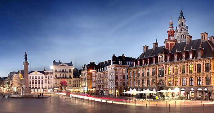 Lille's Grand Place France by Production Perig Shutterstock