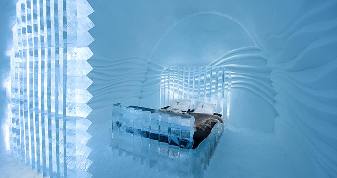 Icehotel room, sweden by Asaf Kliger, Visit Sweden