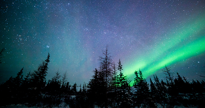Aurora and stars, Canada by Visit Canada