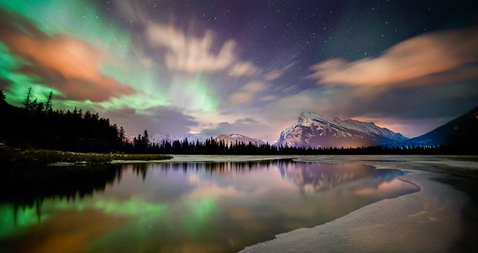 Lake aurora, Canada by Visit Canada