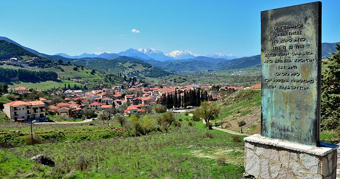 Kalavryta The Peloponnese Greece by Σαλαμούρας Σπύρος Wikimedia Commons