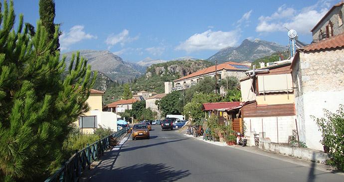 Kardamyli The Peloponnese Greece by Ppso Wikimedia Commons