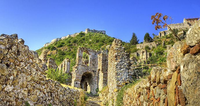 Mystra, peloponnese, greece © f8grapher, Shutterstock