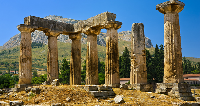 ancient-corinth, peloponnese, greece © WitR, Shutterstock