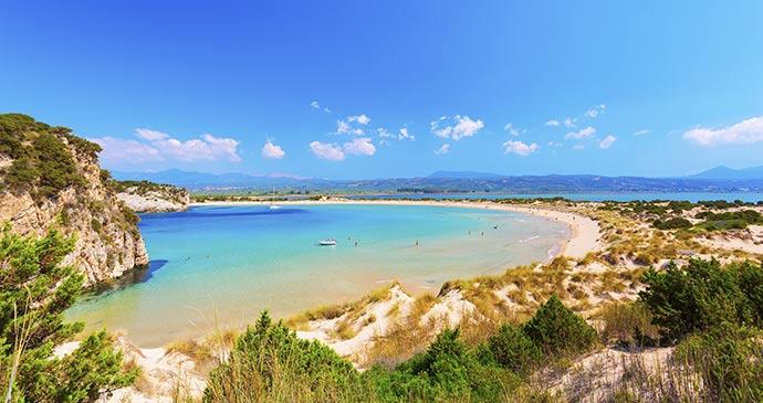 Voidokilia Beach Messinia Greece Peloponnese Anastasios71 Shutterstock