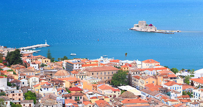 Nafplio The Peloponnese Greece by wyman, Shutterstock