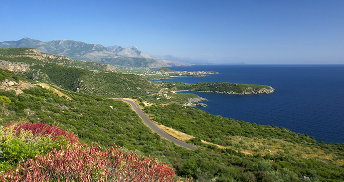 Mani coastline, Peloponnese, Greece © Sunvil