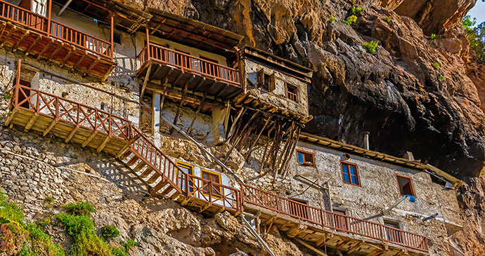 Prodromou Monastery the Peloponnese Greece by Nick Pavlakis Shutterstock