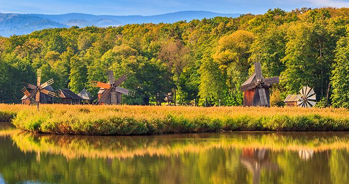 ASTRA complex, Sibiu, Transylvania, Romania by Gaspar Janos, Shutterstock