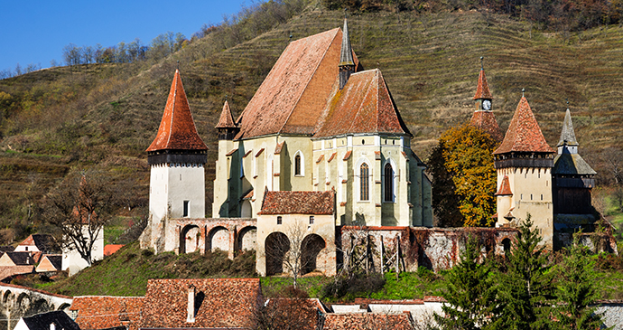 Fortified church, Biertan, Transylvania, Romania by cge2010, Shutterstock
