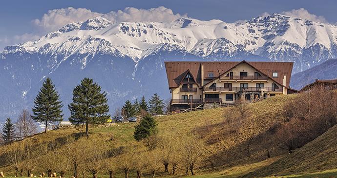 Bucegi Mountains, Transylvania, Romania by Photosebia, Shutterstock
