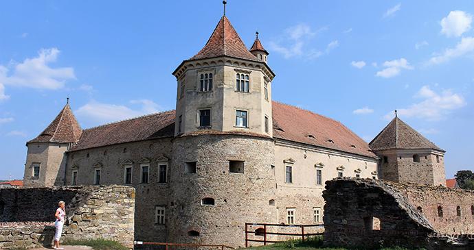Făgăraş Fortress, Braşov County, Transylvania, Romania by Paul Brummell