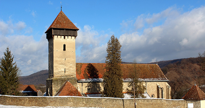 Fortified church, Mălâncrav, Transylvania, Romania by Paul Brummell