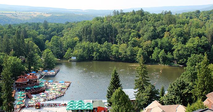 Lacul Ursu, Sovata-Băi, Transylvania, Romania by Paul Brummell