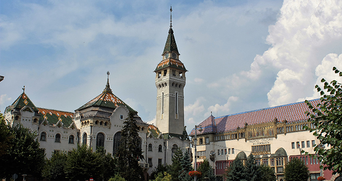 Old Town Hall, Târgu Mureș, Transylvania, Romania by Paul Brummell