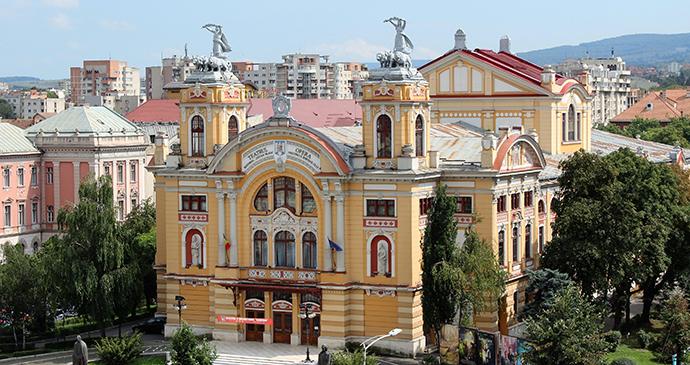 Opera House, Cluj-Napoca, Transylvania, Romania by Paul Brummell