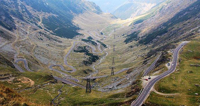 Transfăgăraşan Highway, Transylvania, Romania by Paul Brummell