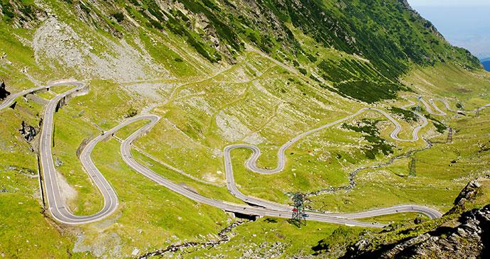Transfăgărăşan Highway, Transylvania, Romania by Rechitan Sorin, Shutterstock