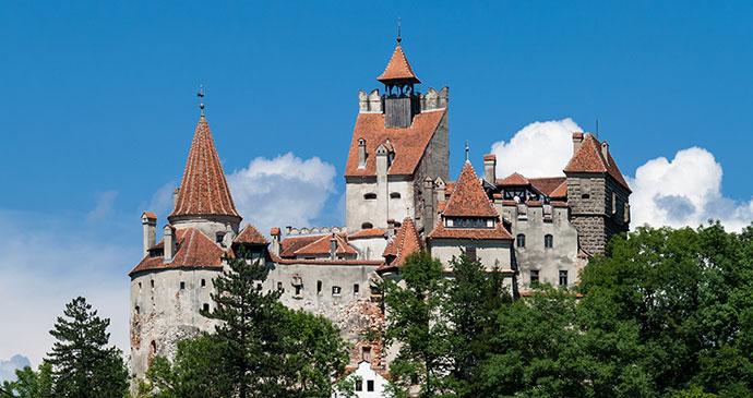 Bran Castle Transylvania Romania by dinosmichail Shutterstock