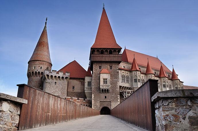 Corvin Castle Transylvania Romania by Gaman Mihai-Radu/Shutterstock
