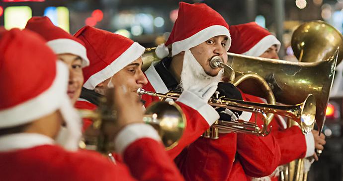 Trumpeters, Christmas, Belgrade, Serbia by Zeljko Sinobad, Shutterstock