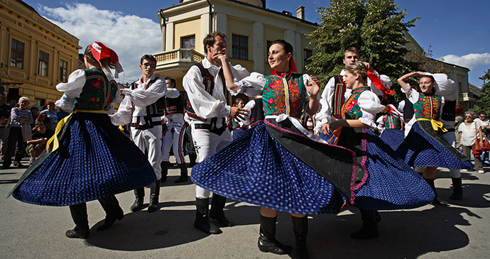 Folklore festival, Sremski Karlovci, Serbia by D. Bosnic, Archive National Tourism Organisation Serbia