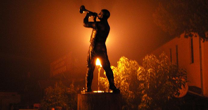 Guča Trumpet Festival, Serbia by Svickova, Wikimedia Commons