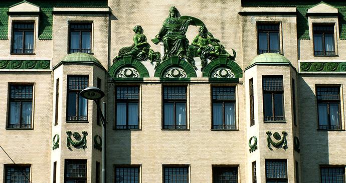 Hotel Moscow, Belgrade, Serbia by Jaimrsilva, Wikimedia Commons