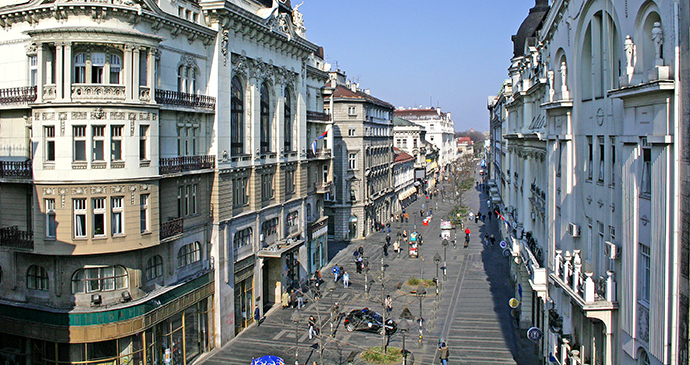Knez Mihailova, Belgrade, Serbia by D. Bosnic, Archive National Tourism Organisation Serbia