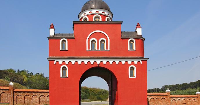 Krušedol monastery, Vojvodina, Serbia by Pecold, Shutterstock