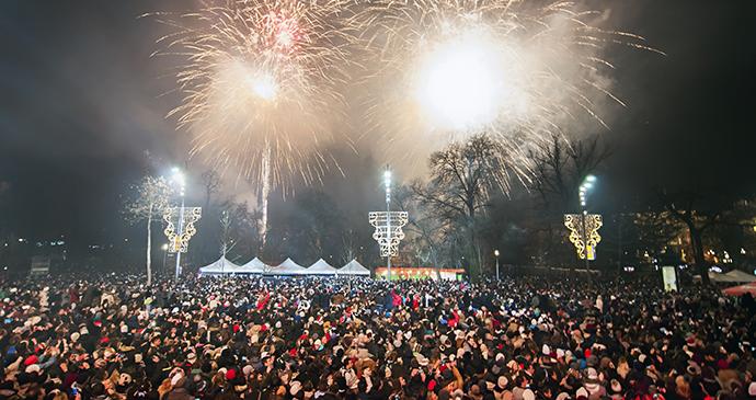 New Year's Eve concert, Belgrade, Serbia by Zeljko Sinobad, Shutterstock