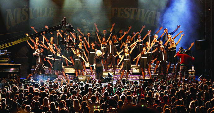 Nisville festival, Niš, Serbia by Tourism Organisation of Niš