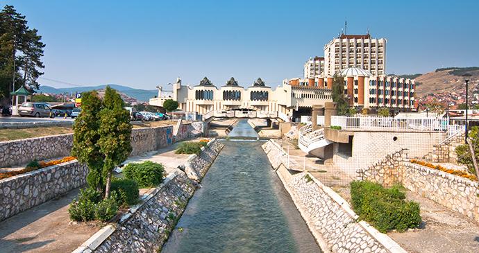 Hotel Vrbak, Novi Pazar, Serbia by Devteev, Shutterstock