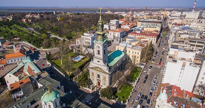 Saborna crkva, Belgrade, Serbia by Tarik Kaan Muslu, Shutterstock