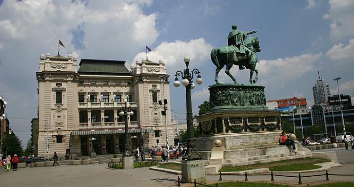 Republic Square, Belgrade, Serbia by D. Bosnic, Archive National Tourism Organisation Serbia