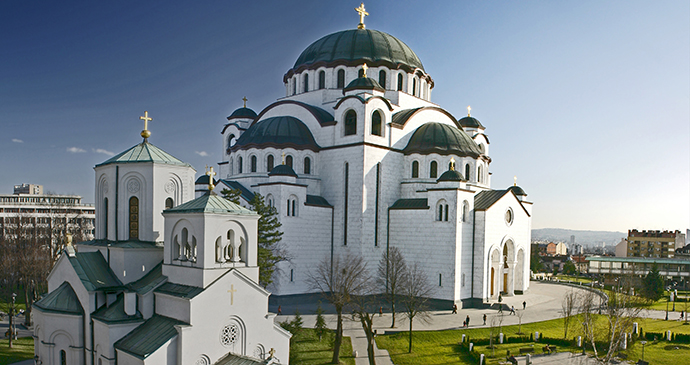 Saint Sava Temple, Belgrade, Serbia by D. Bosnic, Archive National Tourism Organisation Serbia