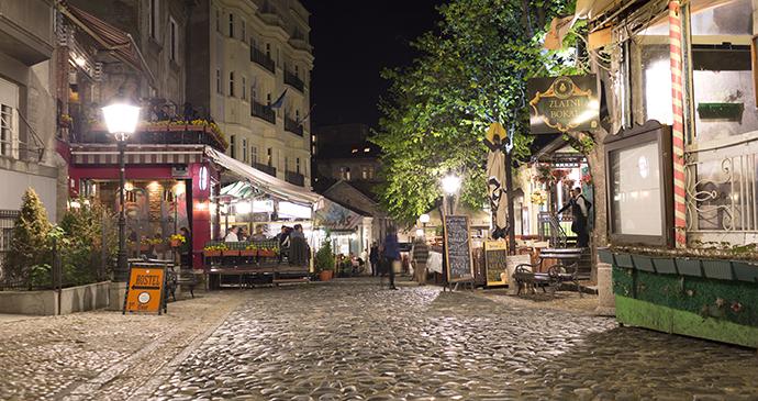 Skadarlija, Belgrade, Serbia by Dreamer Company, Shutterstock