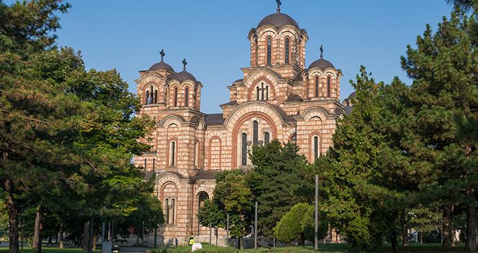 St Mark's Church, Belgrade, Serbia by Nikolai Karaneschev, Wikimedia Commons