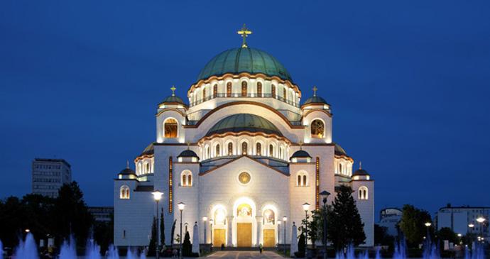 Temple of St Sava, belgrade, Serbia by Mikhail Markovskiy, Shutterstock